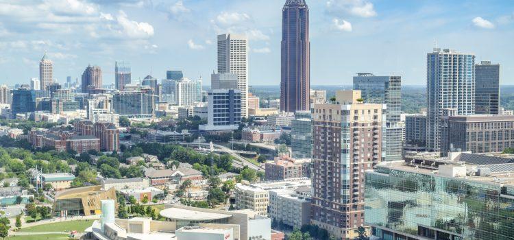 Photo of the Atlanta cityscape