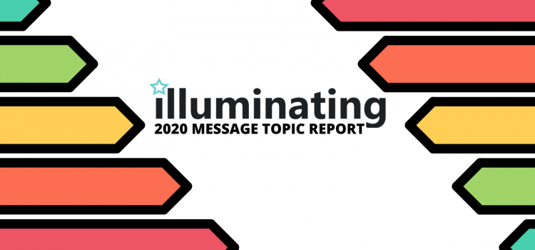 Illuminating 2020 Message Topic Report
